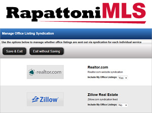Rapattoni Listing Syndication Manager