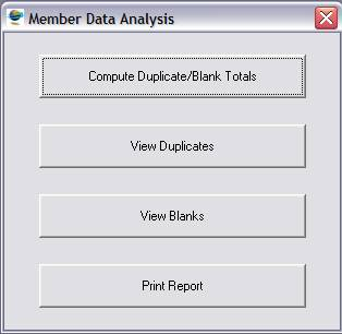 Member Data Analysis